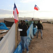 Desalojo en El Boro: Para Bienes Nacionales y Serviu es restitución de terrenos fiscales