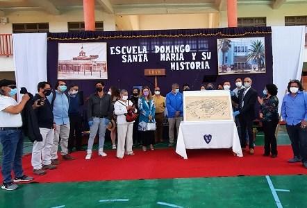Ceremonia con  impronta histórica, identitaria y rescate patrimonial, constituyó entrega de planos que realizó Miguel Lawner