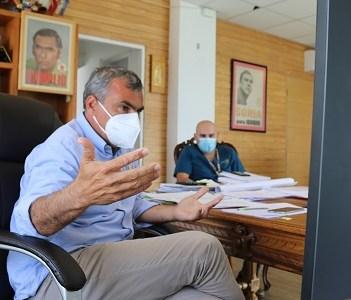 Sobre crisis migratoria en  Tarapacá, expuso el alcalde Soria ante autoridades centrales
