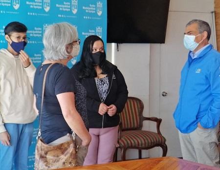 Estudiantes del Liceo Libertador Bernardo O'Higgins, representarán a la región en travesía escolar en la antártica