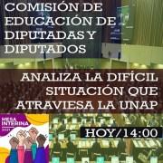 Estudiantes Unap piden Comisión investigadora, ley de rescate de universidades estatales y protección laboral efectiva