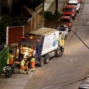 Para que trabajadores puedan estar junto a sus familias, no hay recolección de basura este último día del año