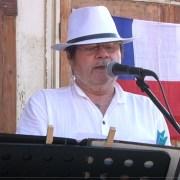 En frontis de Iglesia Pampina graban Homenaje virtual a la pampa salitrera y a los hombres y mujeres de la pampa