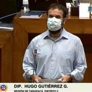 """""""Me voy para servir al mismo pueblo que me escogió"""": Hugo Gutiérrez tras renunciar como diputado e iniciar candidatura constituyente"""