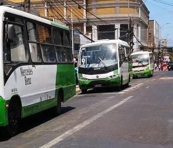 Transporte público mayor funcionará con frecuencia menor considerando que Iquique y Alto Hospicio están en cuarentena.
