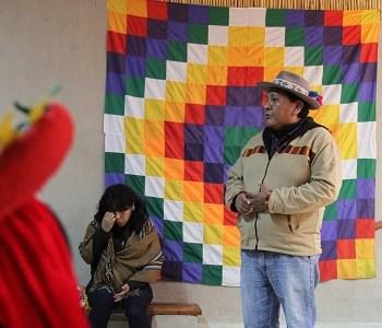 Comunidad  Quechua de Quipisca y la Unap inauguran Escuela de Liderazgo Indígena Tomas Paniri