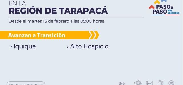 Iquique y Alto Hospicio avanzan a etapa de transición y Mall Zofri anuncia reapertura del Centro Comercial