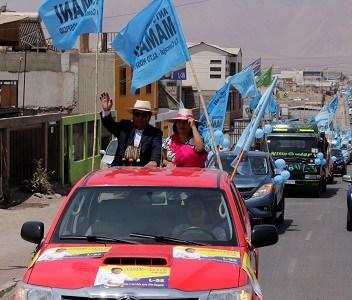 Concejal Mamani, que va a la reelección por Alto Hospicio convoca a caravana de inicio de campaña