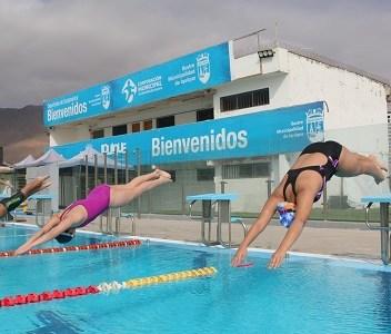 Cormudepi retoma actividad deportiva presencial con talleres y entrenamientos gratuitos en Piscina Godoy y Estadio Tierra de Campeones