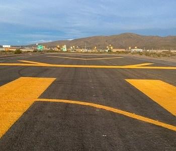 Culminan trabajos de conservación de la pista de aterrizaje de Cariquima en Colchane. Puente aéreo a Iquique para traslado de pacientes graves