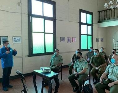Ciclo de conferencias sobre Justicia Penal y Derechos Humanos de laDefensoría Penal Pública partió con capacitación a Carabineros