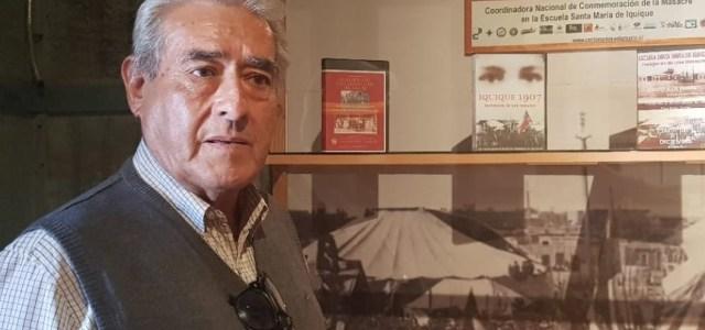 Impacto ante fallecimiento de destacado profesor, pampino, expreso político y militante comunista, Joaquín Ramírez