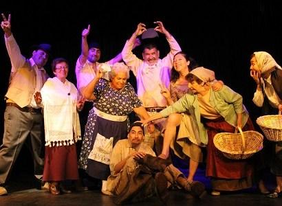 """Obra del Teatro del Adulto Mayor y Teatro Expresión,  """"Margarita, el remolino de la pampa"""" participará en dos festivales teatrales."""