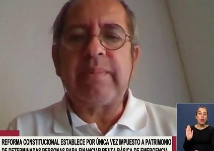 Diputado Moraga aprueba impuesto a super ricos y critica propuesta de Chile Vamos que quiere que gobierno patrocine