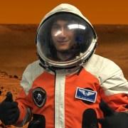 Egresado de la UNAP, becado para realizar entrenamiento espacial que le permitirá realizar misiones a Marte y la Luna