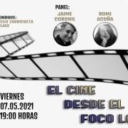 """""""El Cine desde el Foco Local"""", en un nuevo capítulo de Conversatorios del Portal Edición Cero"""