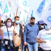 En Feria La Quebradilla, epicentro del intercambio cultural y económico, candidato a Gobernador Regional Marco Pérez, inició campaña