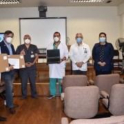 Rotary Club de Iquique entregó equipos computacionales a Urgencia del Hospital Regional