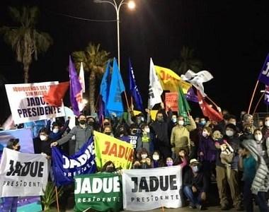 Diversidad de comandos por Jadue, inician despliegue territorial con miras a primarias presidenciales del 18 de julio