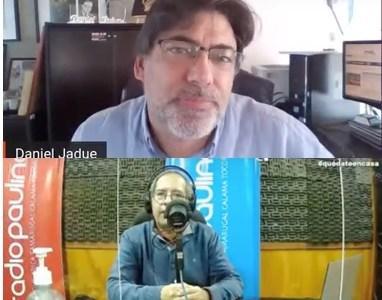 """Presidenciable Daniel Jadue: """"Programa que va a estar en juego, es el programa que el pueblo de Chile ha puesto sobre la mesa"""""""