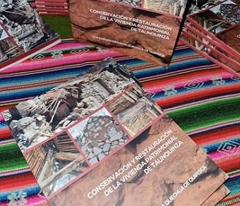Quipisca lanza libro sobre conservación y restauración de Vivienda Patrimonial, con financiamiento FNDR de Cultura