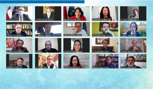 Senado y gobernadores regionales electos abordaron proceso de descentralización en encuentro v irtual