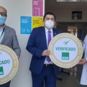UNAP recibió certificación de seguridad  por labor preventiva contra el COVID 19