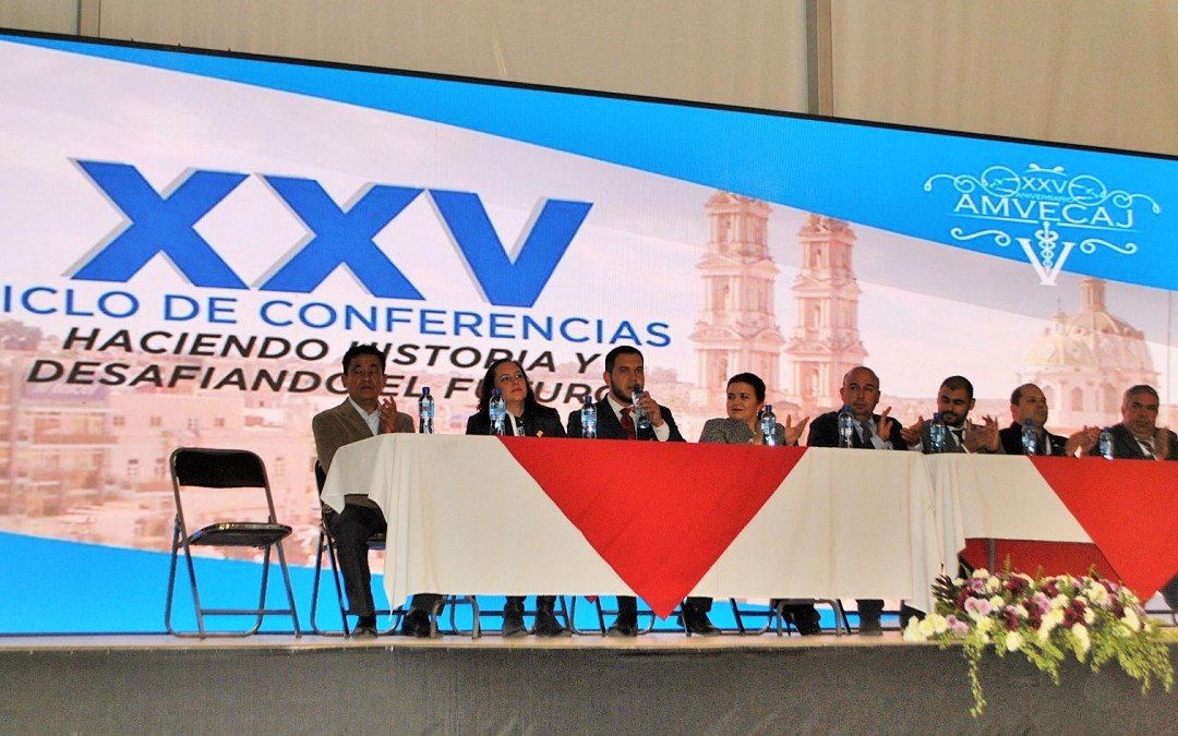 El Congreso AMVECAJ con nueva sede y estructura de programa arranca con elevada asistencia.