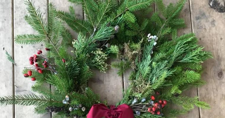 Winter Wreath Workshop | Abundance Farm