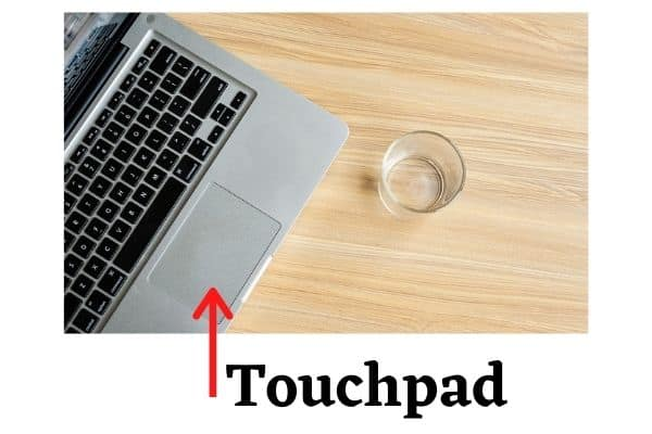 Touchpad pointing device