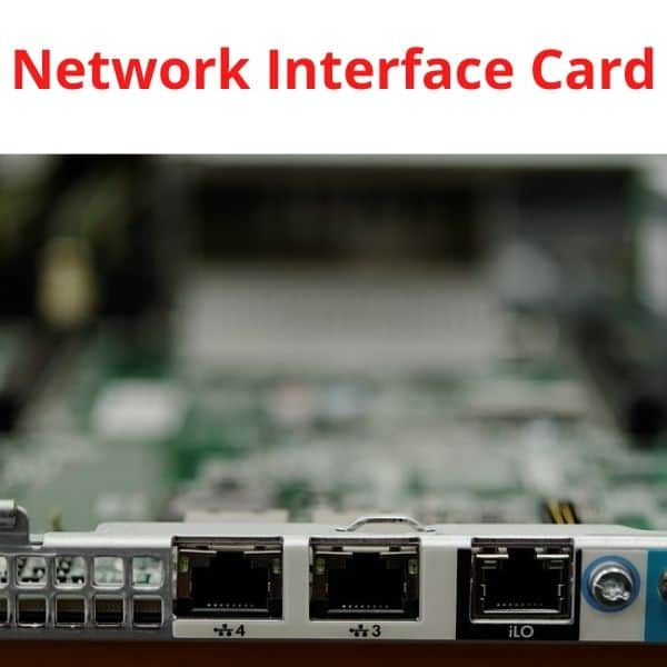 network interface card, what is NIC