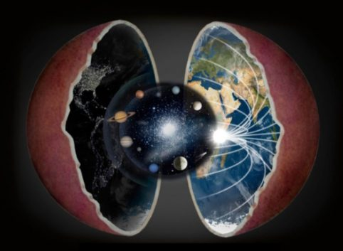 Image result for hollow earth theory