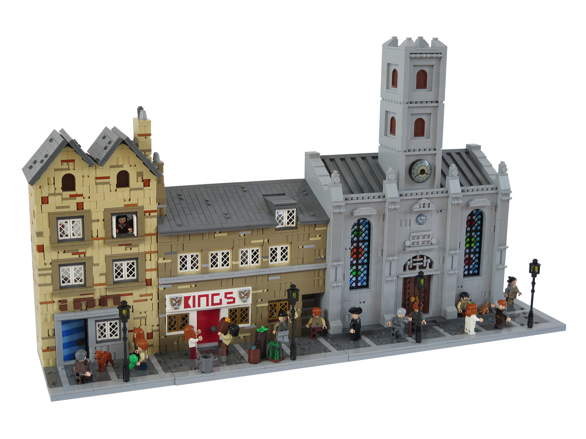 Royal Mile lego