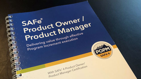 SAFe Product Owner/Product Manager course training material.