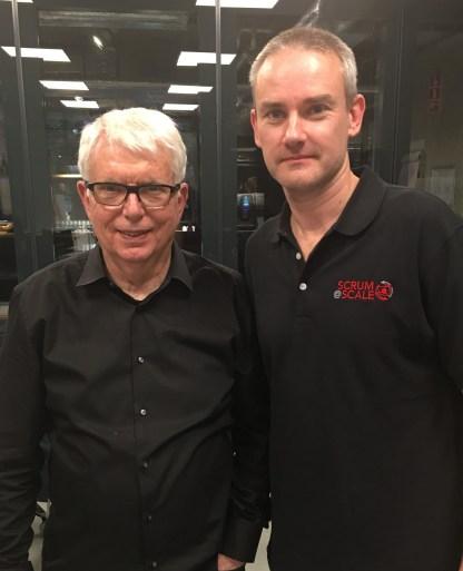 Jeff Sutherland and Paul Beckett