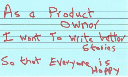 Example User Story