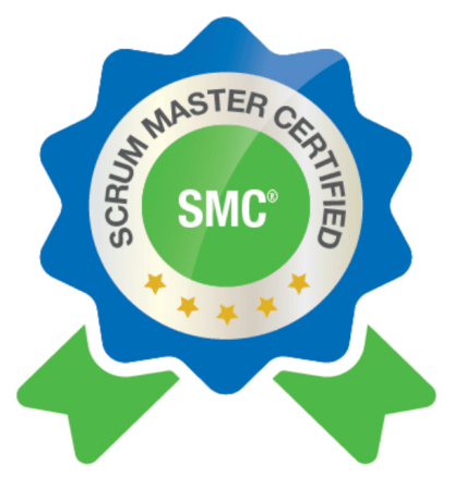 Scrum Master Certified SMC Badge
