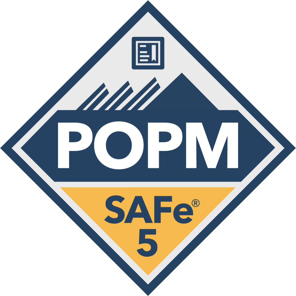 SAFe Product Owner Product Manager POPM Badge