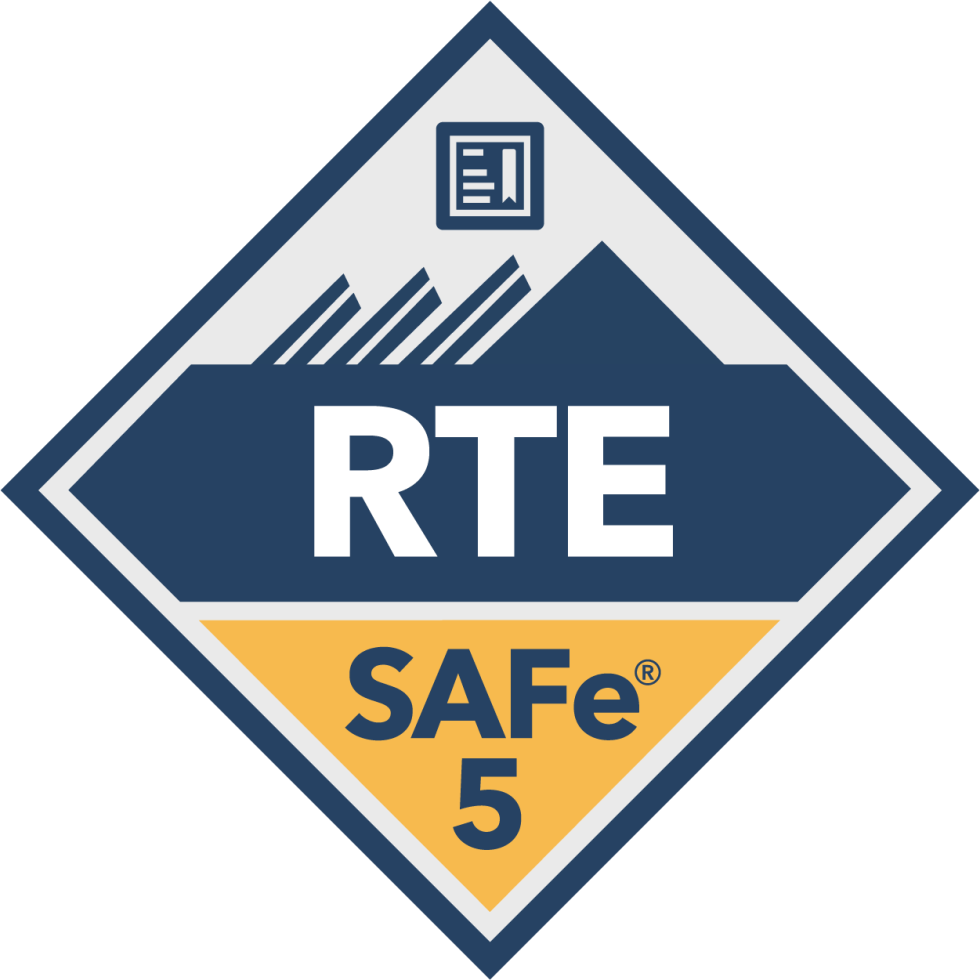 SAFe Release Train Engineer RTE Badge