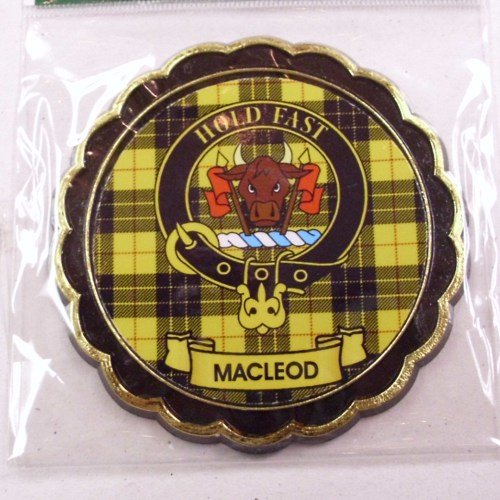 Clan Crest Fridge Magnet Mac Names