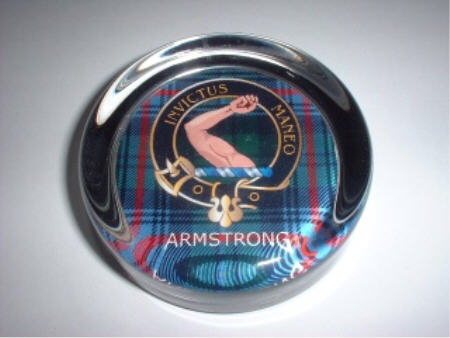 Clan Crest Paperweights A to L