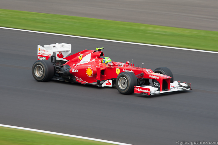 Felipe Massa, Ferrari, Silverstone, 2012