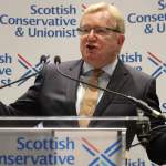Jackson Carlaw, leader of the Scottish Conservatives, giving a speech