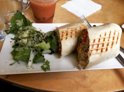 Cajun chicken wrap - Hula