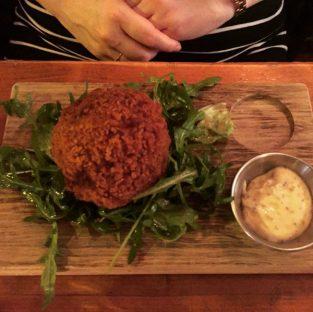 Black Pudding Scotch Egg - The Ox