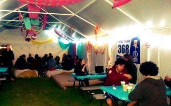 A night in at Fringe Venue 368