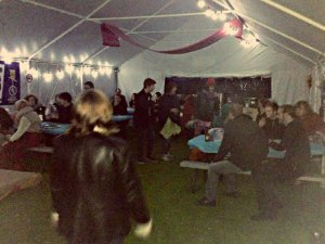 Packed in in Variety Night at Fringe Venue 368 at Edinburgh Festival Camping