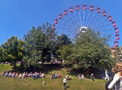 The Big Wheel at The Fringe