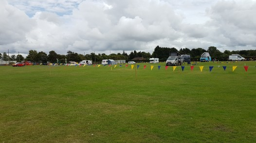 The Meadow camping area for Motorhomes, Caravans, Campervans and those who want to park at their pitch