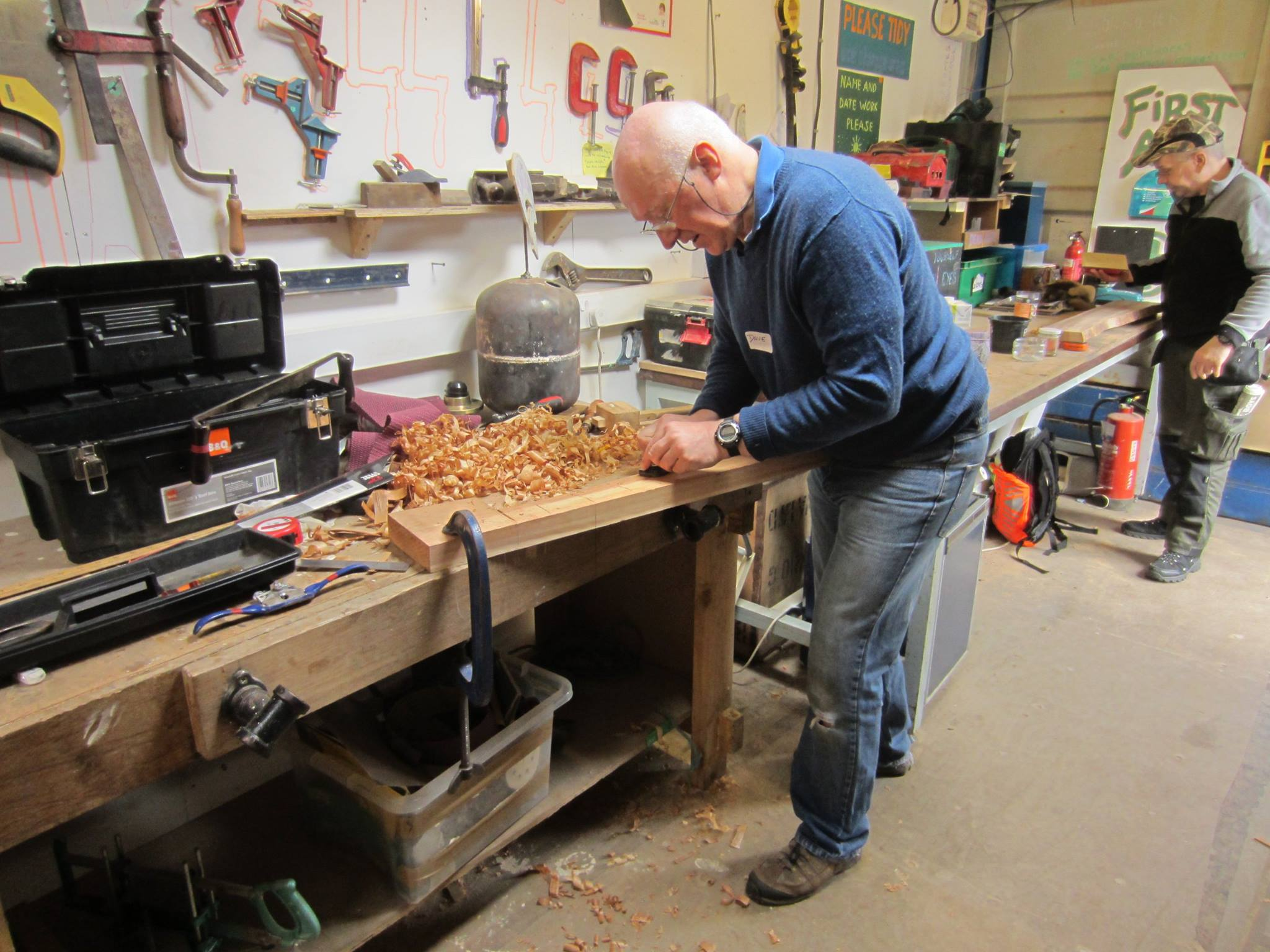 Wood workshop at the Forge